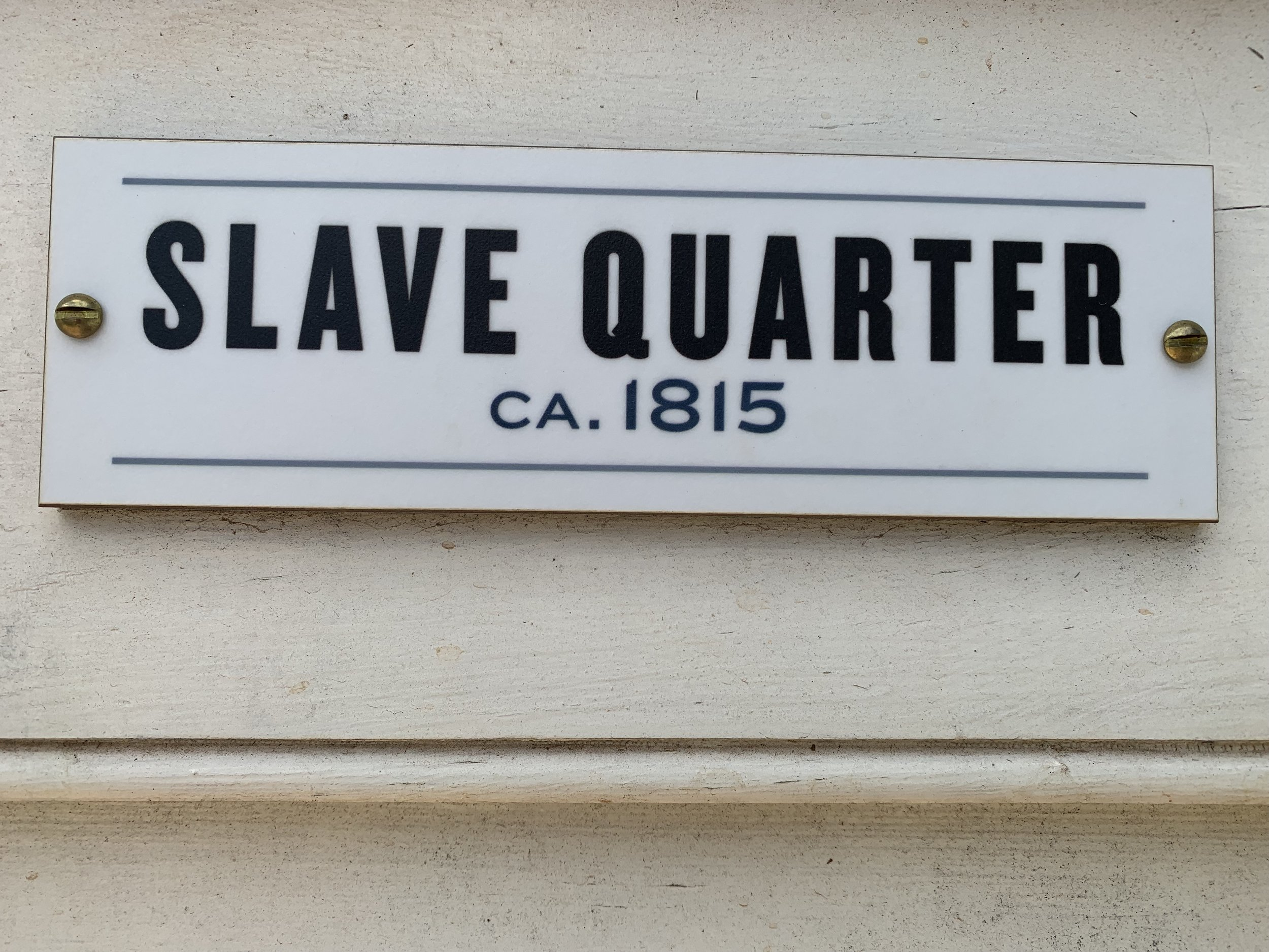 Slave Quarter, Montpelier. Created by  Proun Design , The Montpelier Foundation. Photo by Renée Ater, August 2019.
