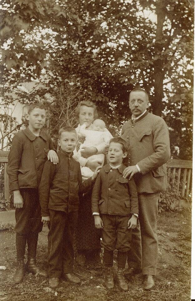 Familie Mayr 1909
