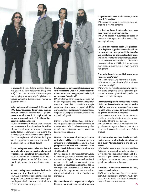 Buscadero: Grinderman interview