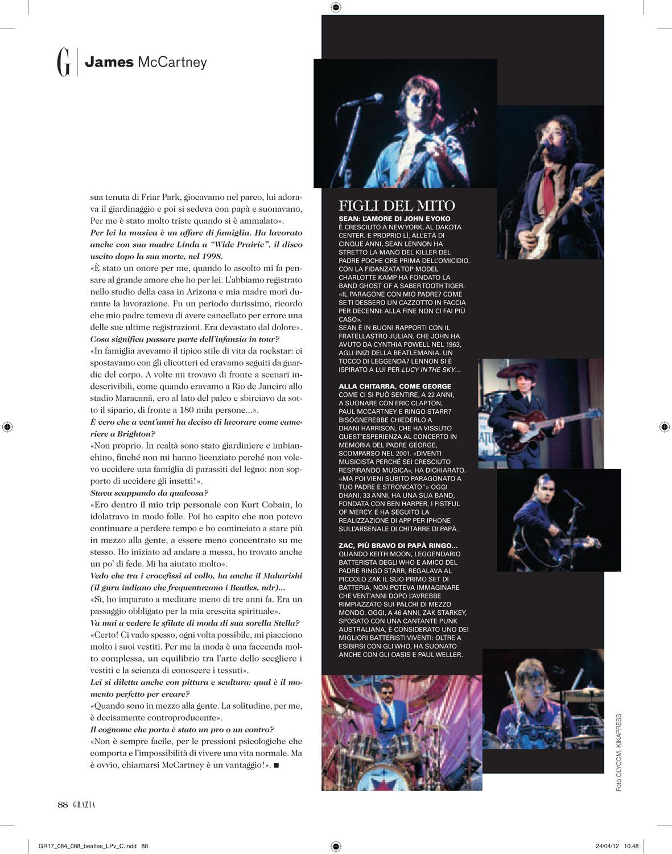 Grazia: James McCartney interview