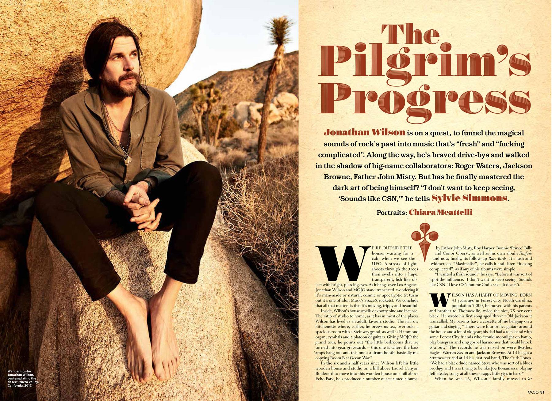 Mojo magazine: Jonathan Wilson photos