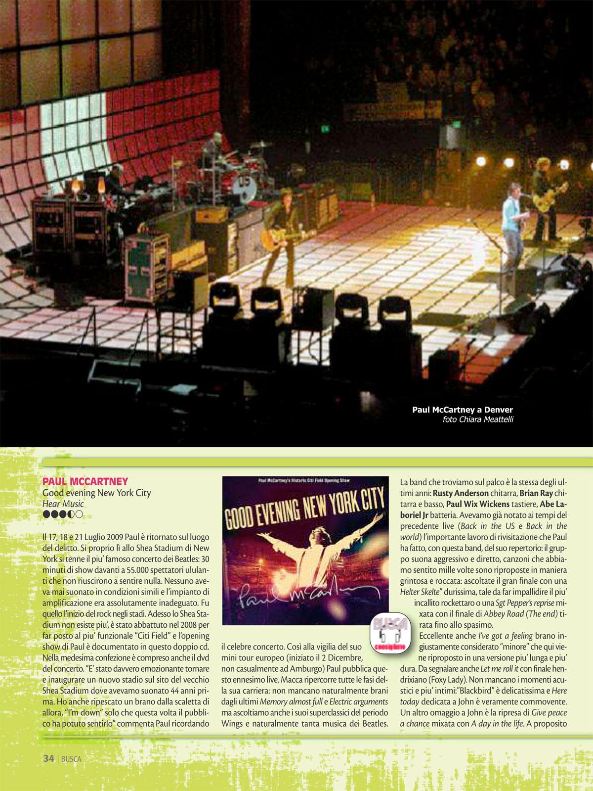 Buscadero: Paul McCartney interview