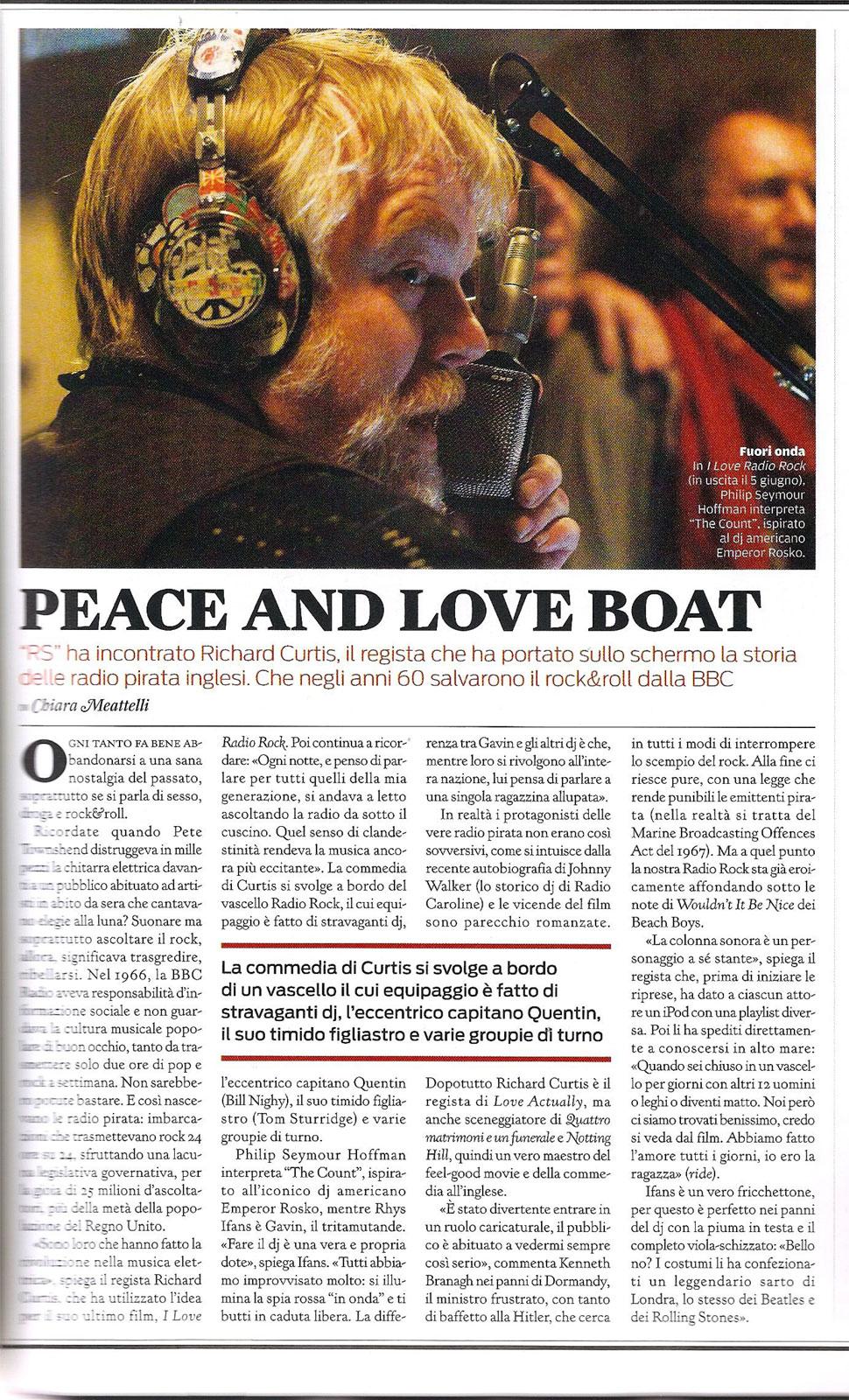 Rolling Stone magazine: Richard Curtis interview