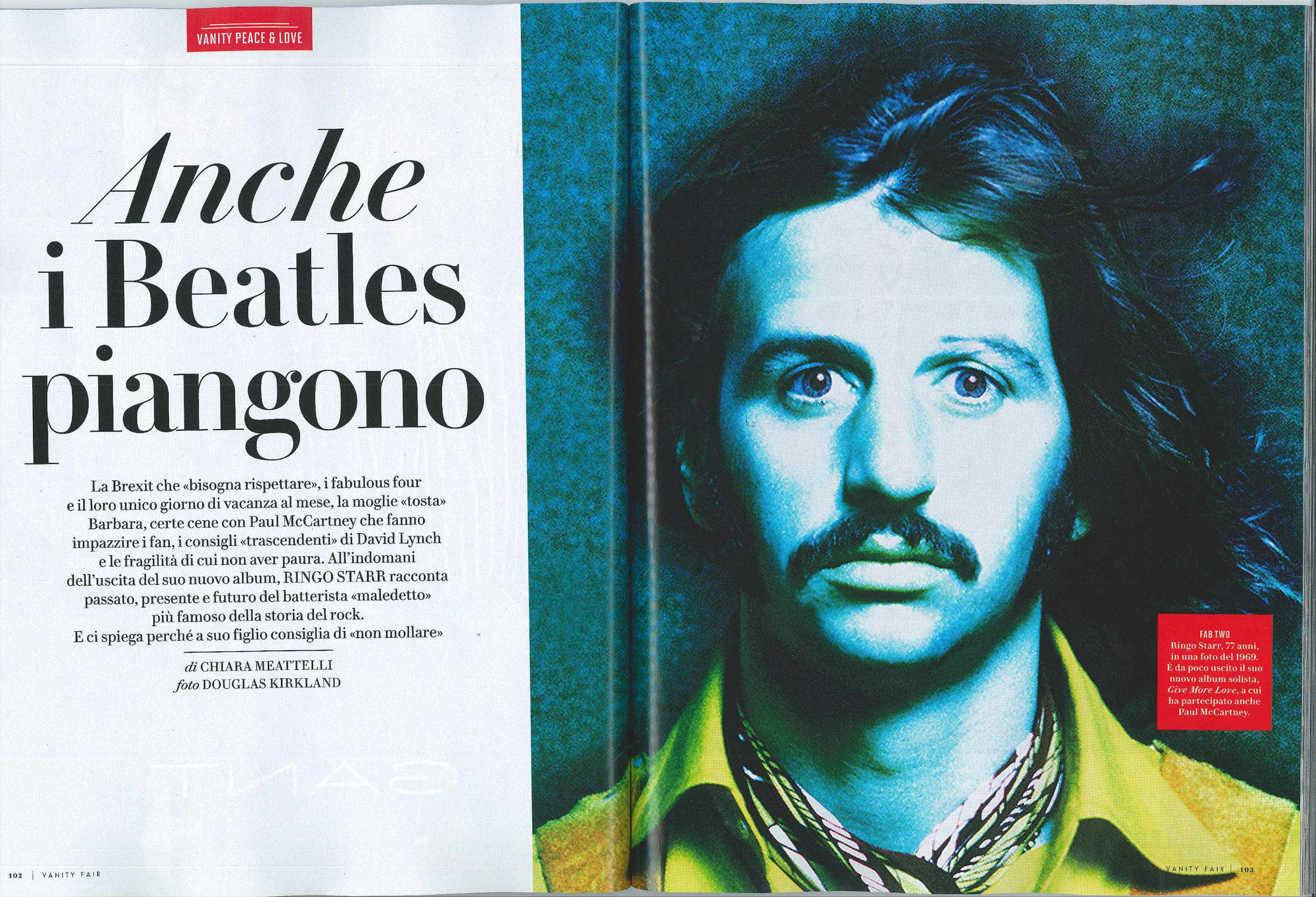 Vanity Fair: Ringo Starr interview