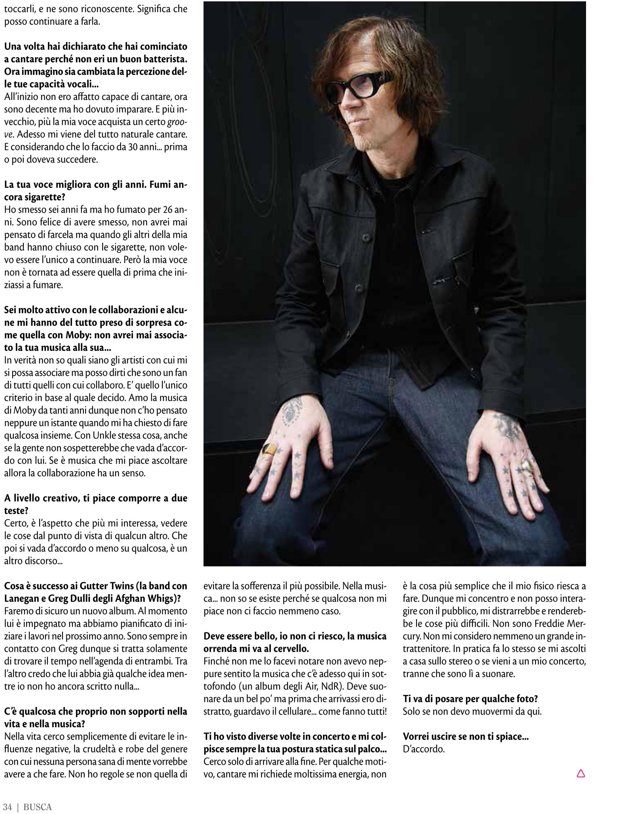 Buscadero: Mark Lanegan interview & photo