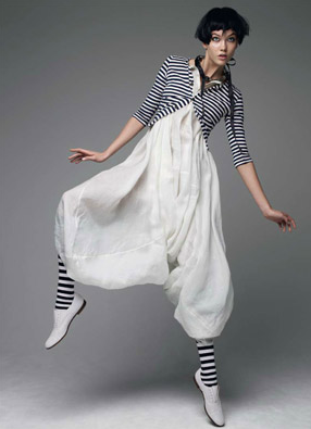 GRAPHIC PLAY by Patrick DeMarchelier