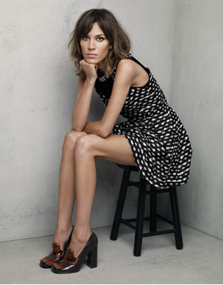ALEXA CHUNG by Patrick DeMarchelier