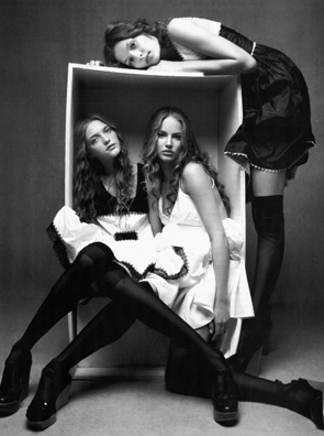 BROKEN DOLLS by Patrick DeMarchelier