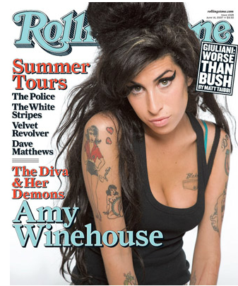 AMY WINEHOUSE  by Max Vadukul