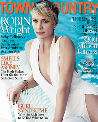 ROBIN WRIGHT by Paul Wetherell