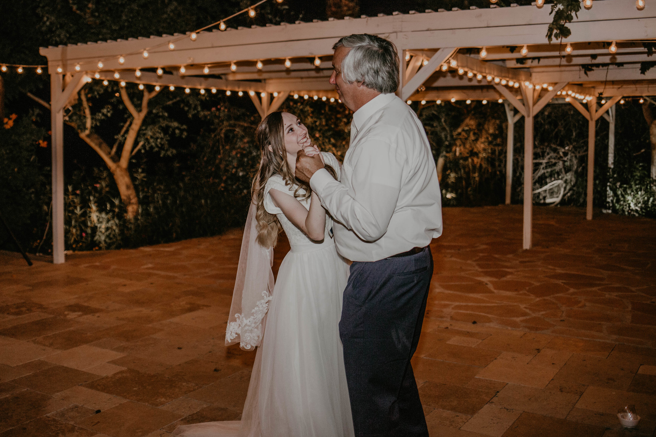 The way she looks at her dad during their 'father/daughter' dance melts my heart!!