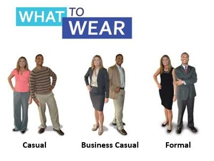 from  http://www.charlotteparent.com/CLT/Blogs/Manners-Please/Workplace-Attire-The-Difference-Between-Casual-Business-Casual-and-Formal/