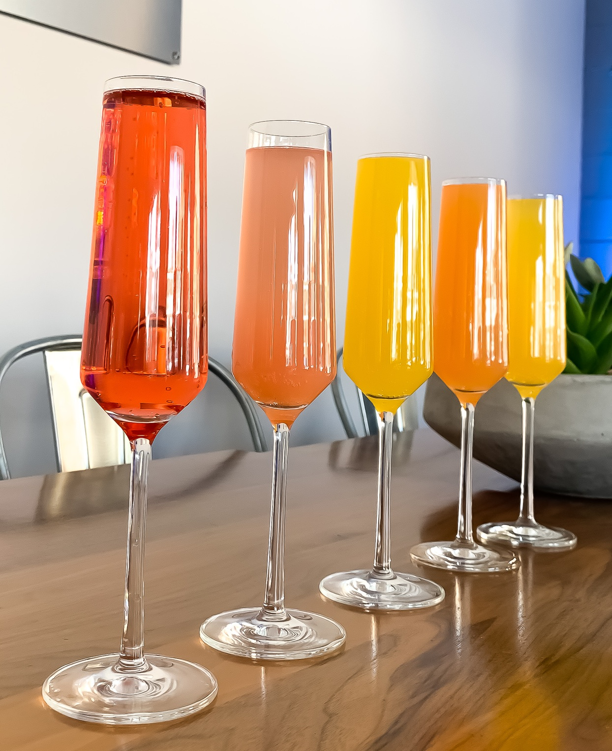 Spring Mimosa Flight - Enjoy delicious flavors all Spring long for a special price!