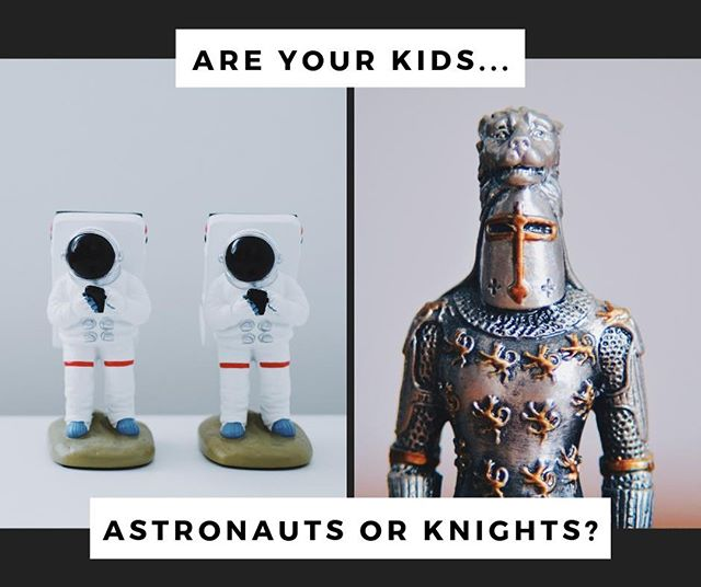 Are your kids astronauts 🚀 or knights 🛡️?⠀ ⠀ Make their dreams come true and book our family-friendly escape rooms during the school holiday! 👉 link in bio. #escaperoom #edinburgh #whatsonedinburgh #easterholiday #astronaut #knight #canyouescape #puzzle
