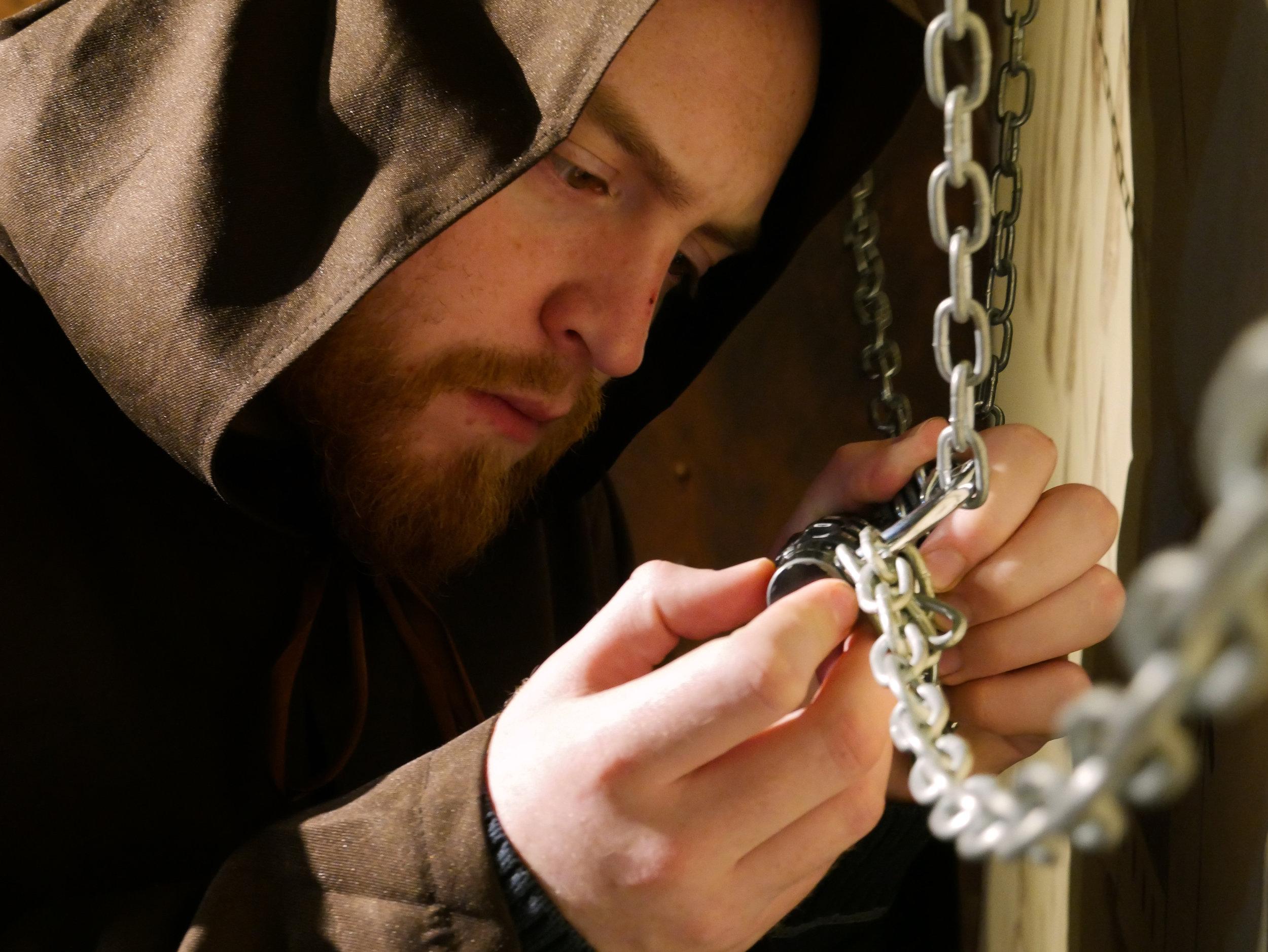 operation spellbound escape room edinburgh padlock