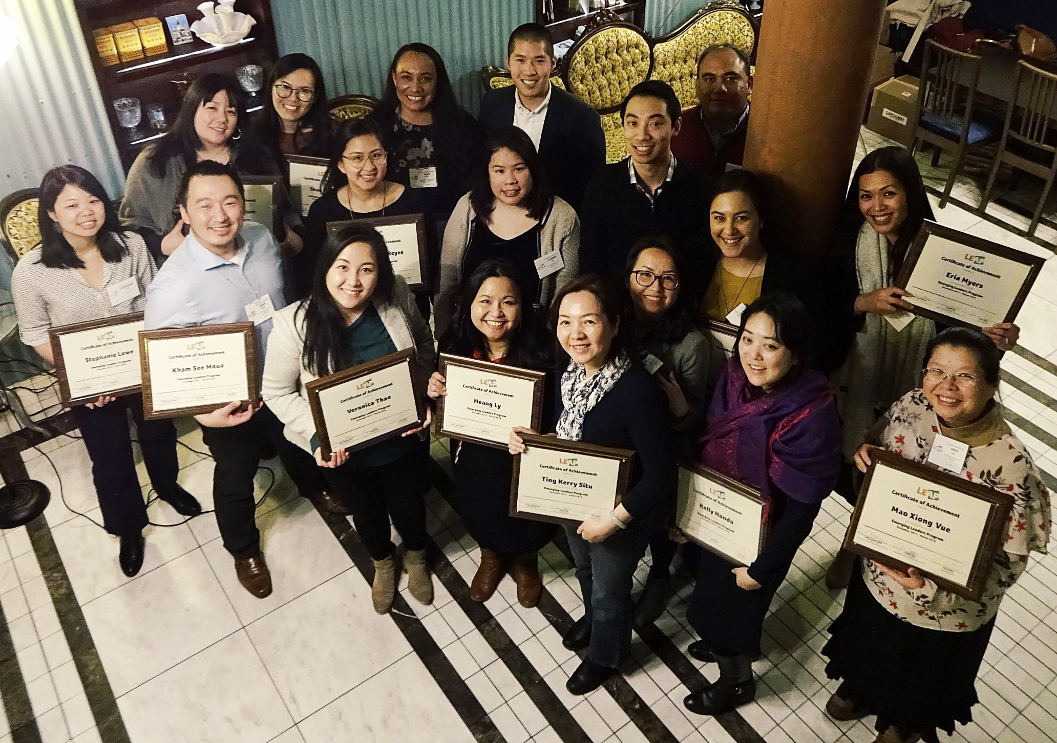 2017-18 ELP Graduation - March 22, 2018 at China Blue in NYC