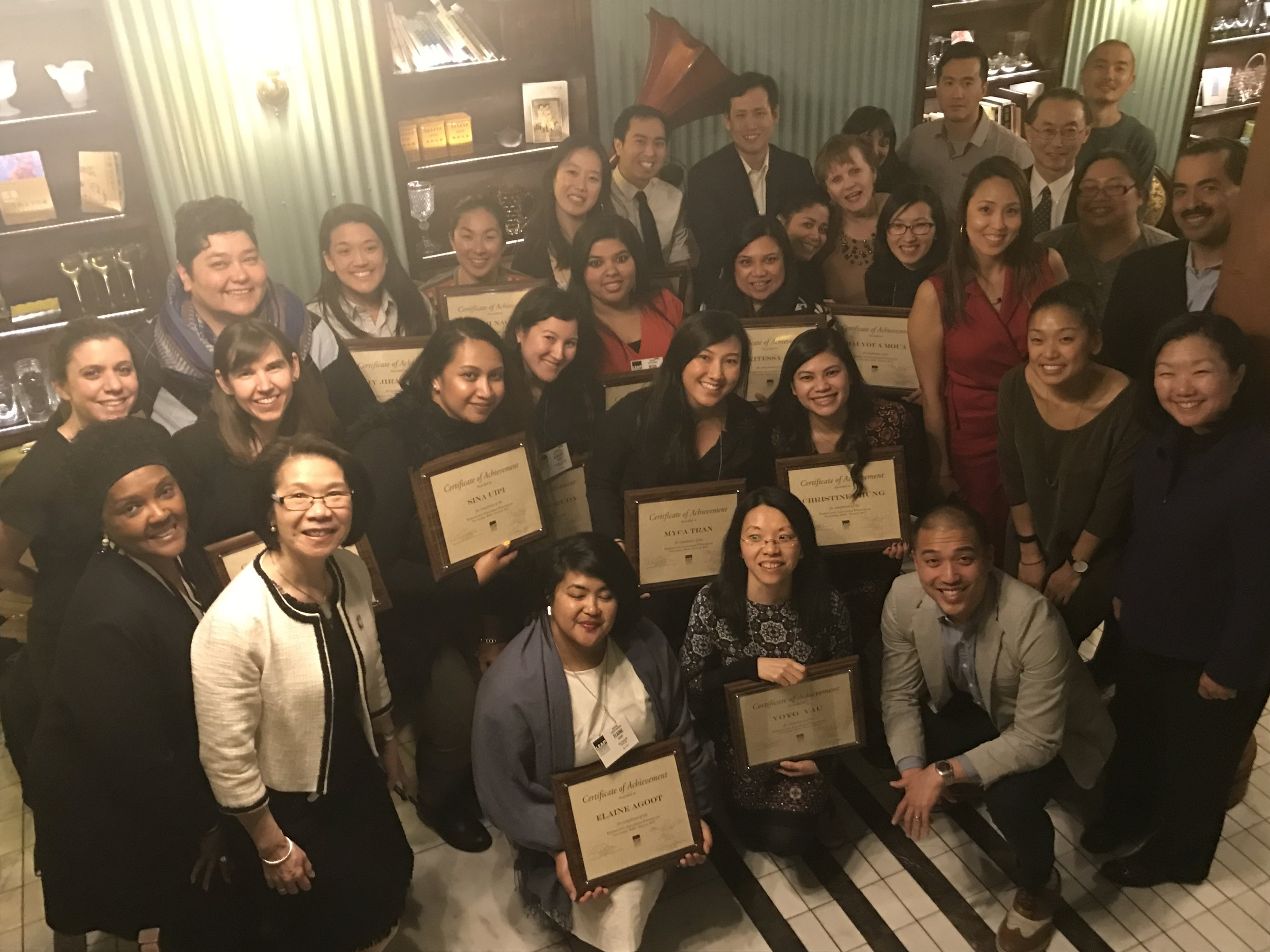 2016-2017 ELP Graduation (March 30, 2017 at China Blue in NYC)