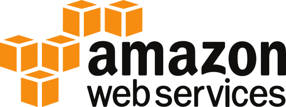 Amazon Web Services logo for containerization management services
