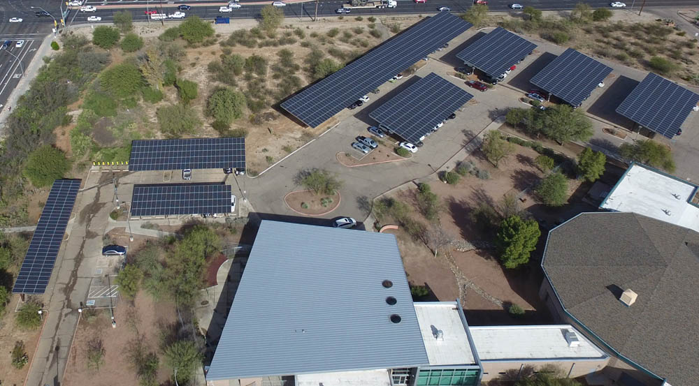Government Customer Arizona | 578 KW Developed by Technicians for Sustainability