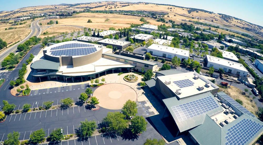 House of Worship California | 217 KW Photo courtesy of Sunworks
