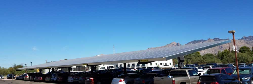 Religious Facility Arizona | 123 KW Developed by Technicians for Sustainability