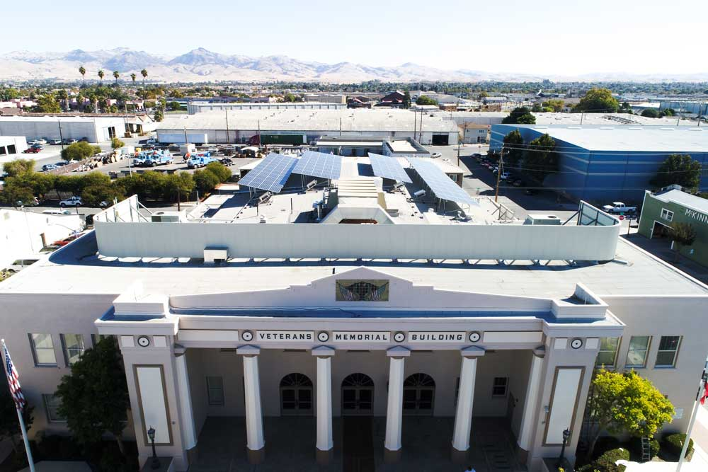 Government Customer California | 66 KW Developed by  Vista Solar