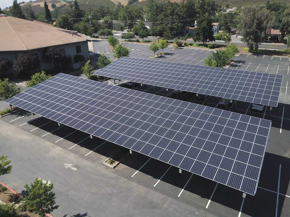 House of worship California | 304 kW (2 sites) Developed by  Vista Solar