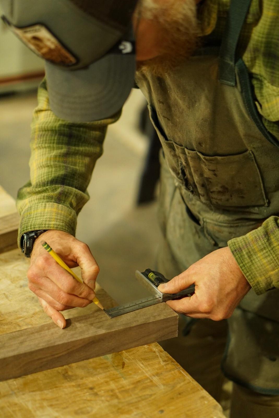 Jason demonstrating the precision involved