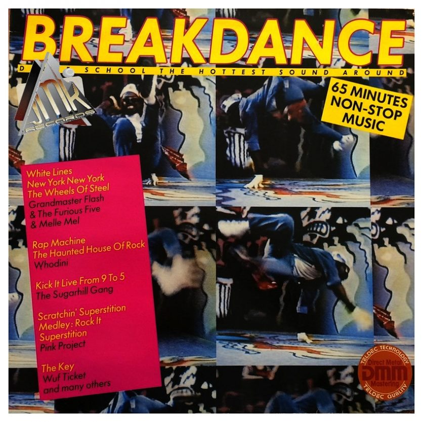 VARIOUS   Break-dance Dance School - The Hottest Sounds Around, 1984, Jupiter Records, 65:00