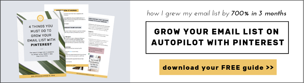 How To Grow Your Email List With Pinterest (+ a FREE