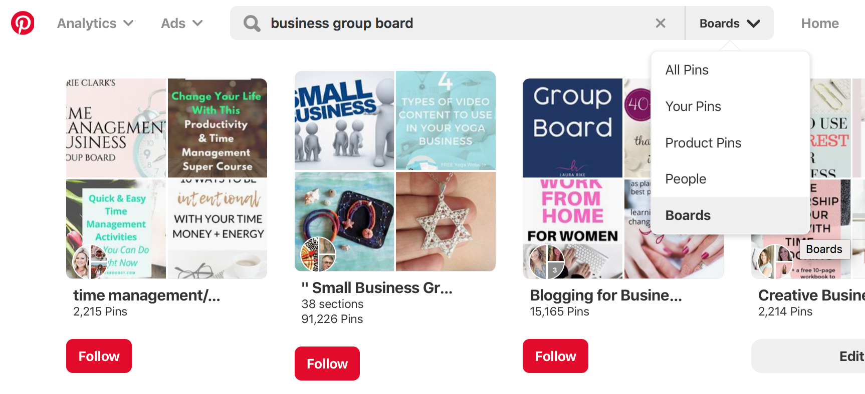 How to Find the Best Group Boards in Your Niche on Pinterest