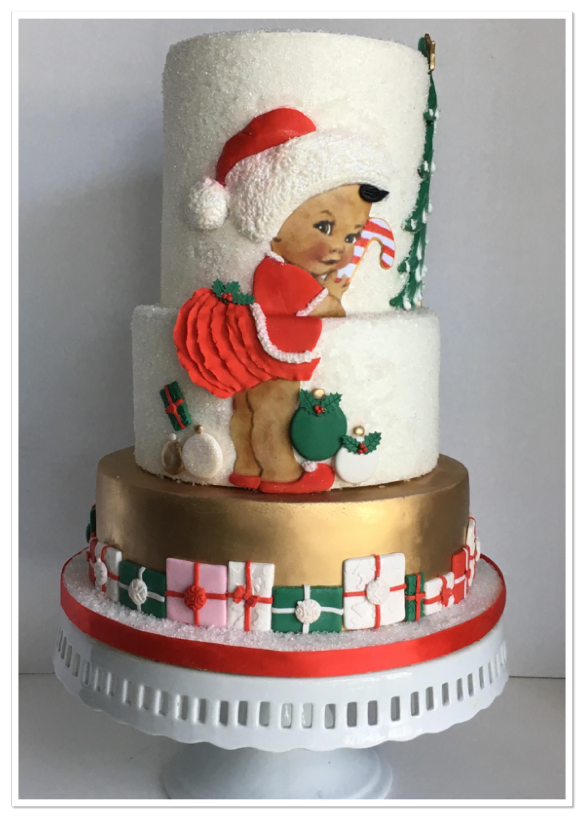 Christmas Kwanza Cake