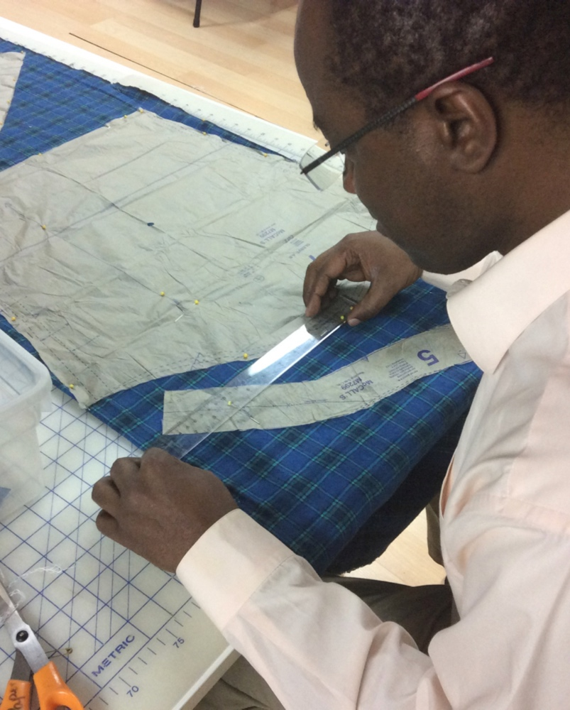 Sewing students of all ages in Milton Ontario