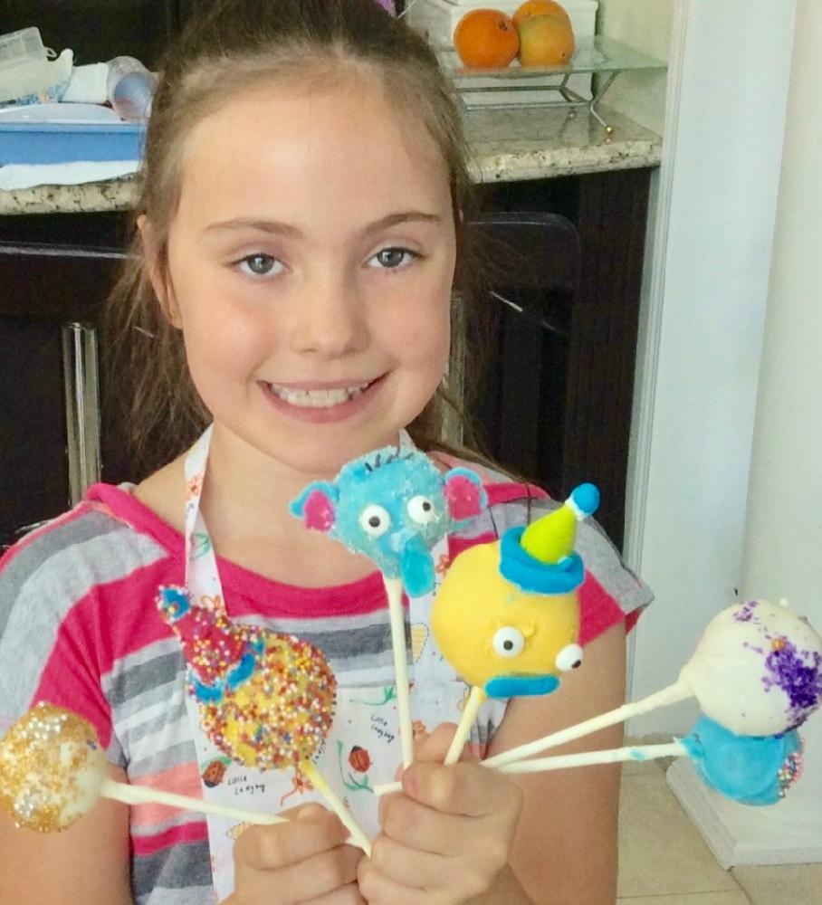 Make Cake Pops at Fun Camp