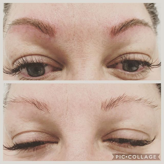 No brow? No problem. Semi permanent micro pigmentation is for you! No more penciling in your brows. Brows are extremely important as they frame your face. #micropigmentation #permanentmakeup #permanenteyeliner #microblading #wakeupnomakeup