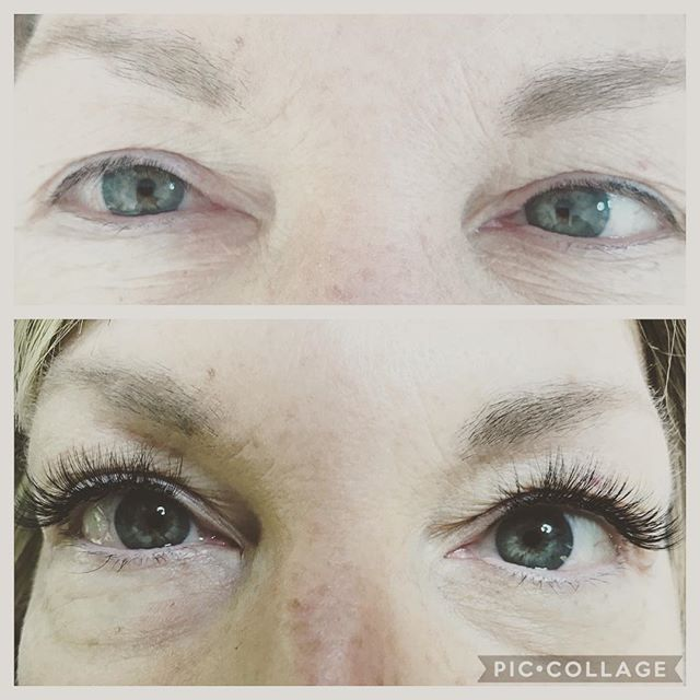 Before and after #lashes #volume #volumelashes #lashextensions #russianvolume #vancouver #lashfete