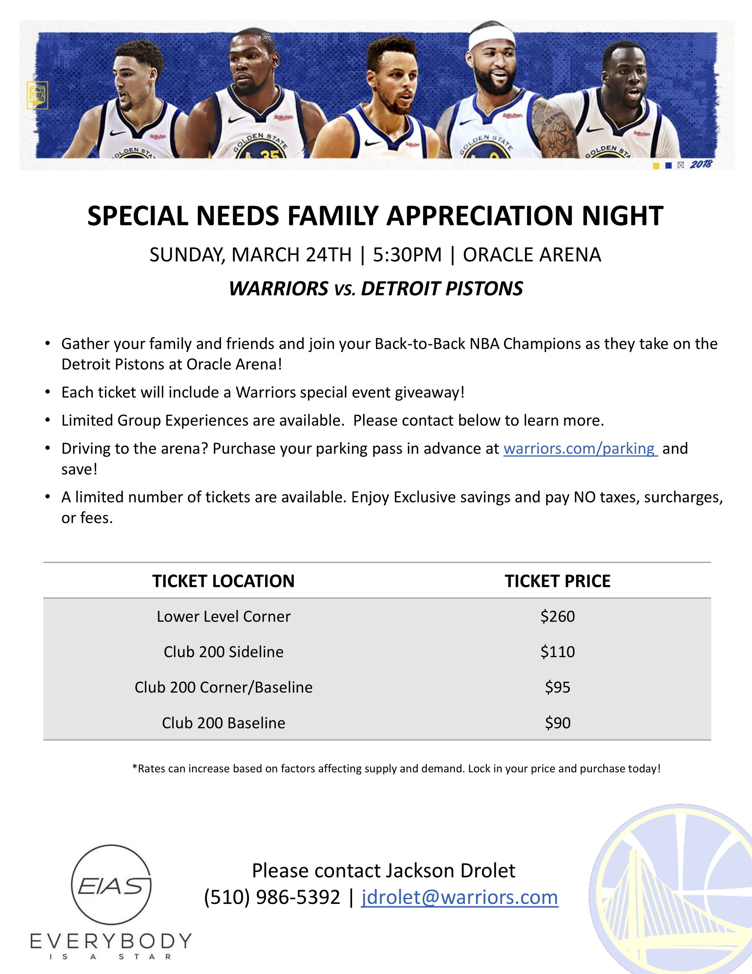 Warriors Special Needs Night  3.24.19 promo flyer .jpg
