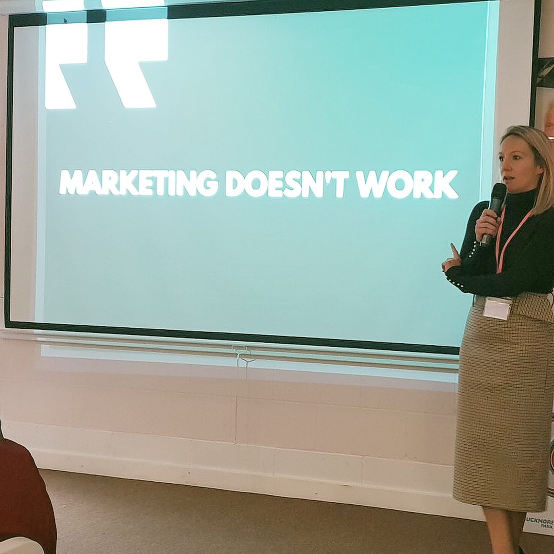 Marketing doesn't work… -