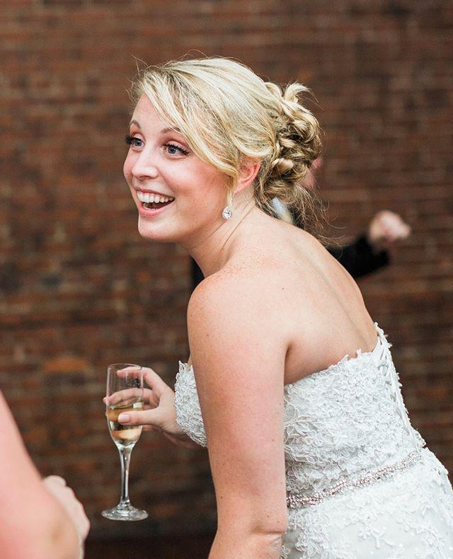 TFW it's finally the weekend... 📸 @bronwynduffieldphotography #greatroomwedding #puttaringonit #ncwedding #chapehillwedding #uncwedding #franklinstreetwedding #weddingreception  #weddingphotography