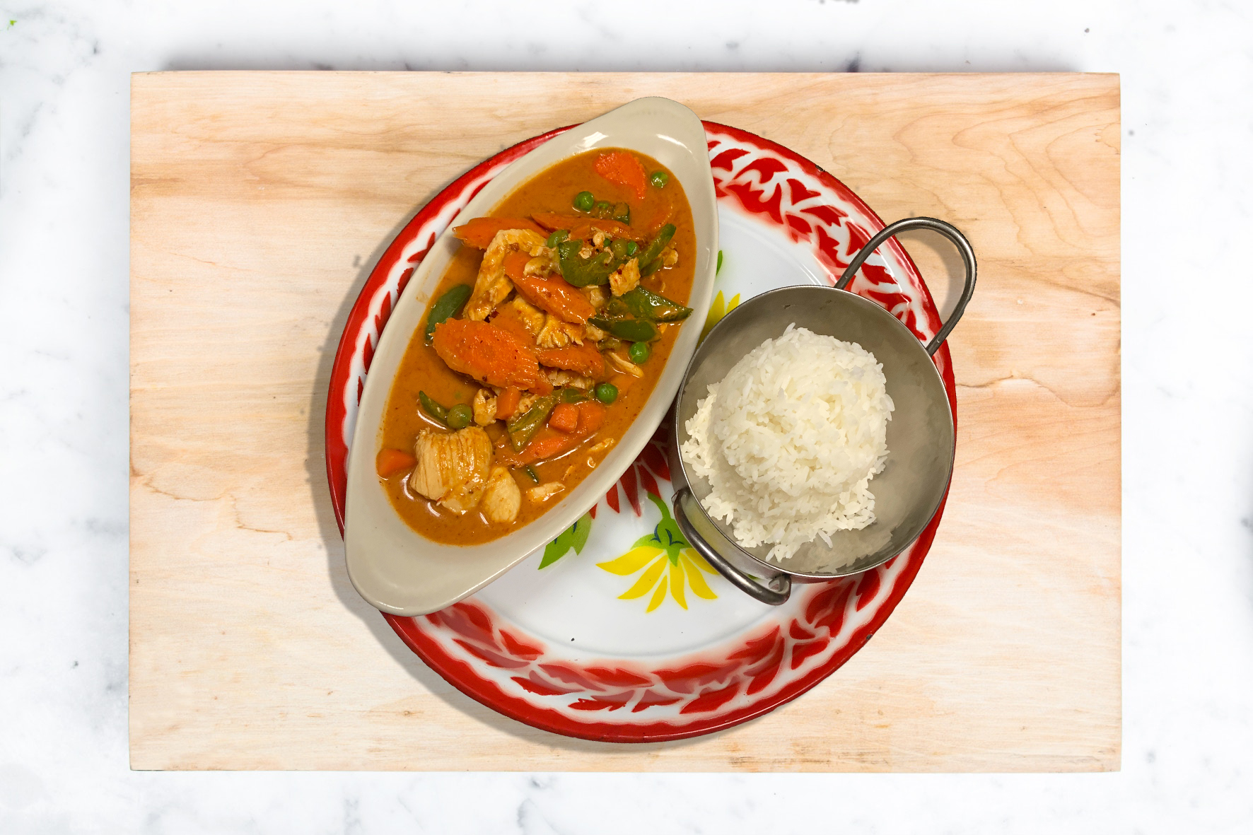 70. Panang curry with chicken (Chef's recommendation!)