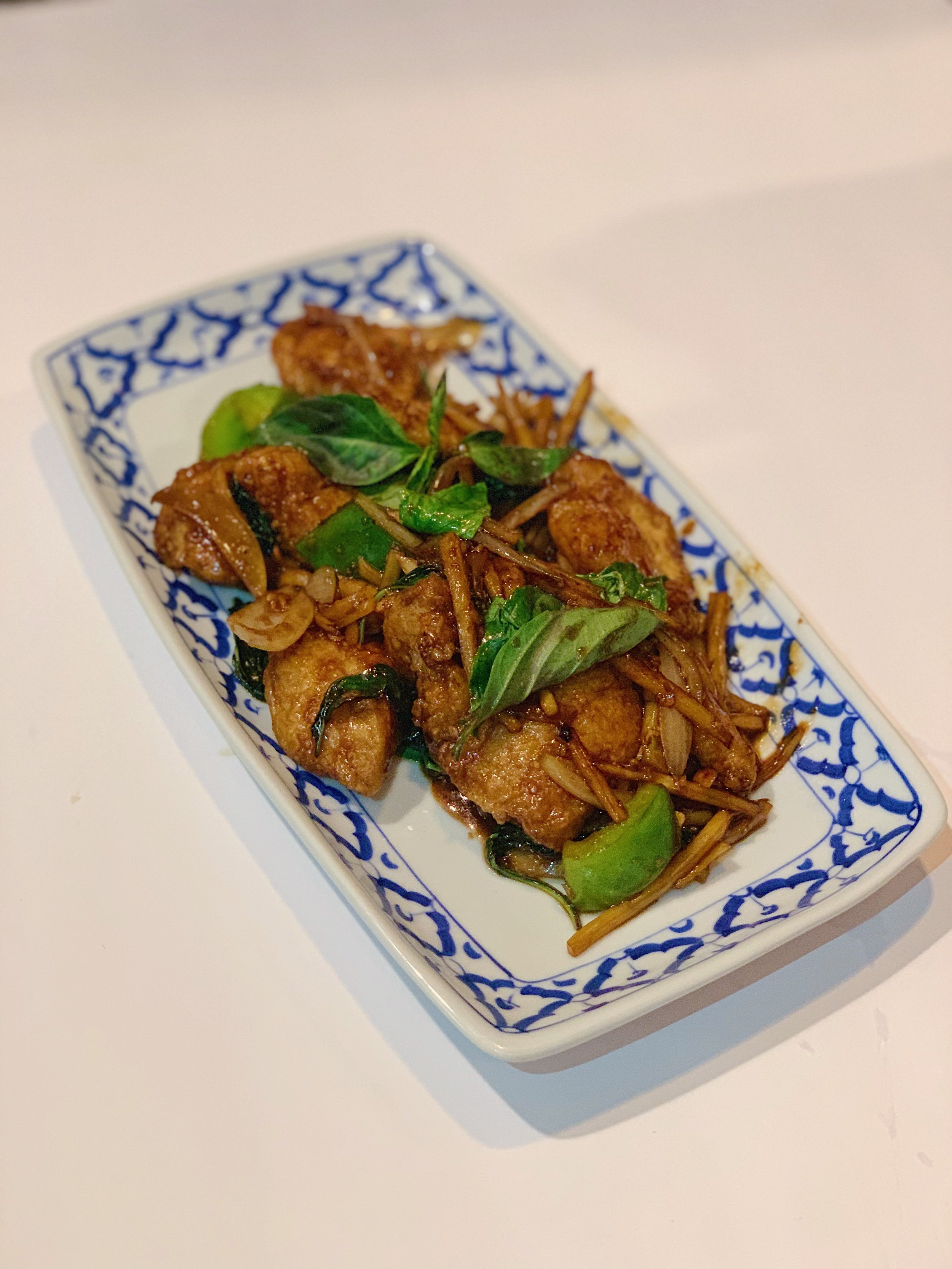 s3. fish spicy basil leaves