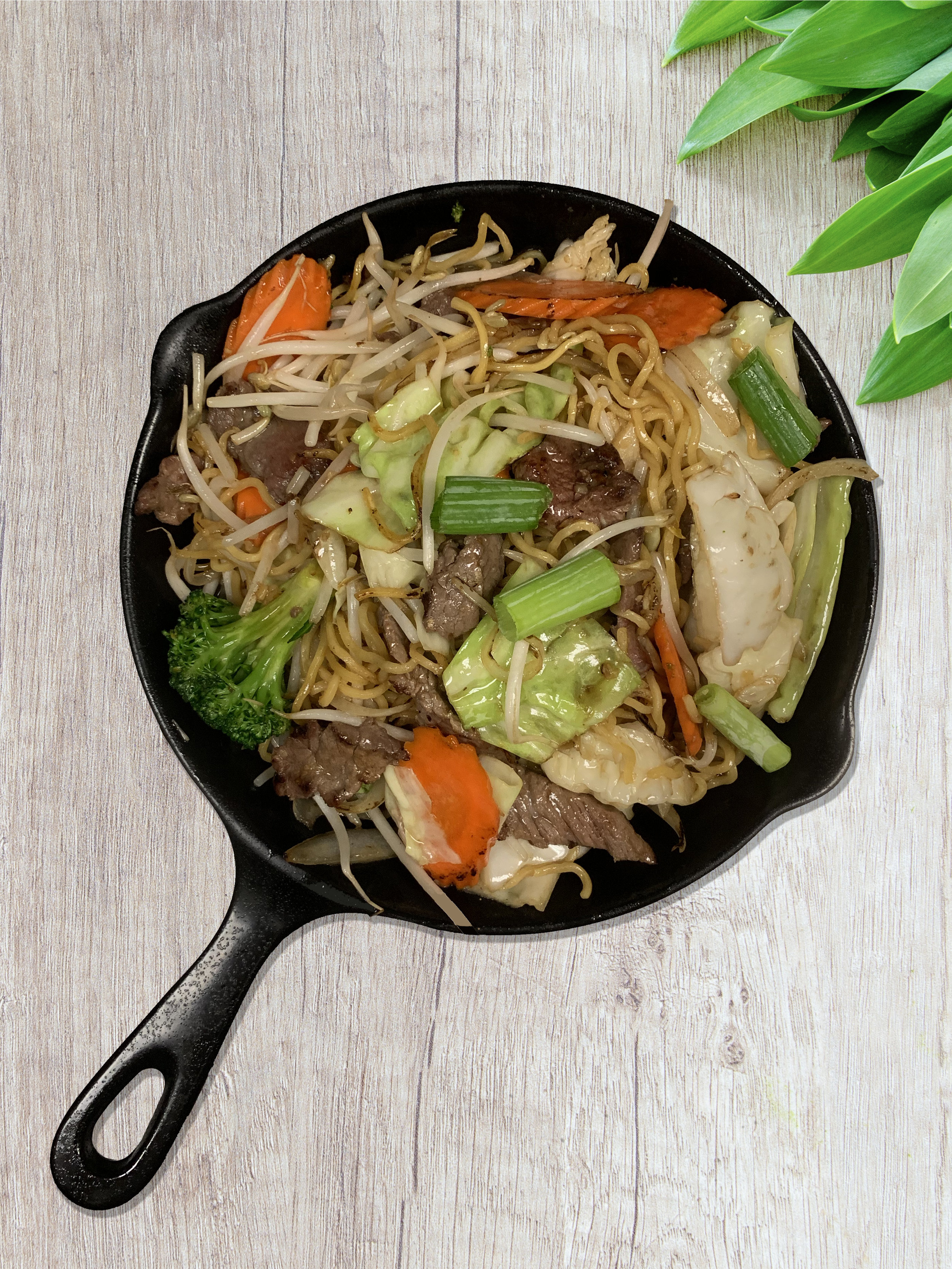 26. chow mein beef