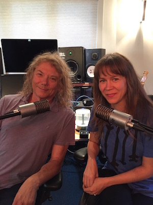 Jerry Harrison and Beyond + Back podcast creator & host Krissy Teegerstrom