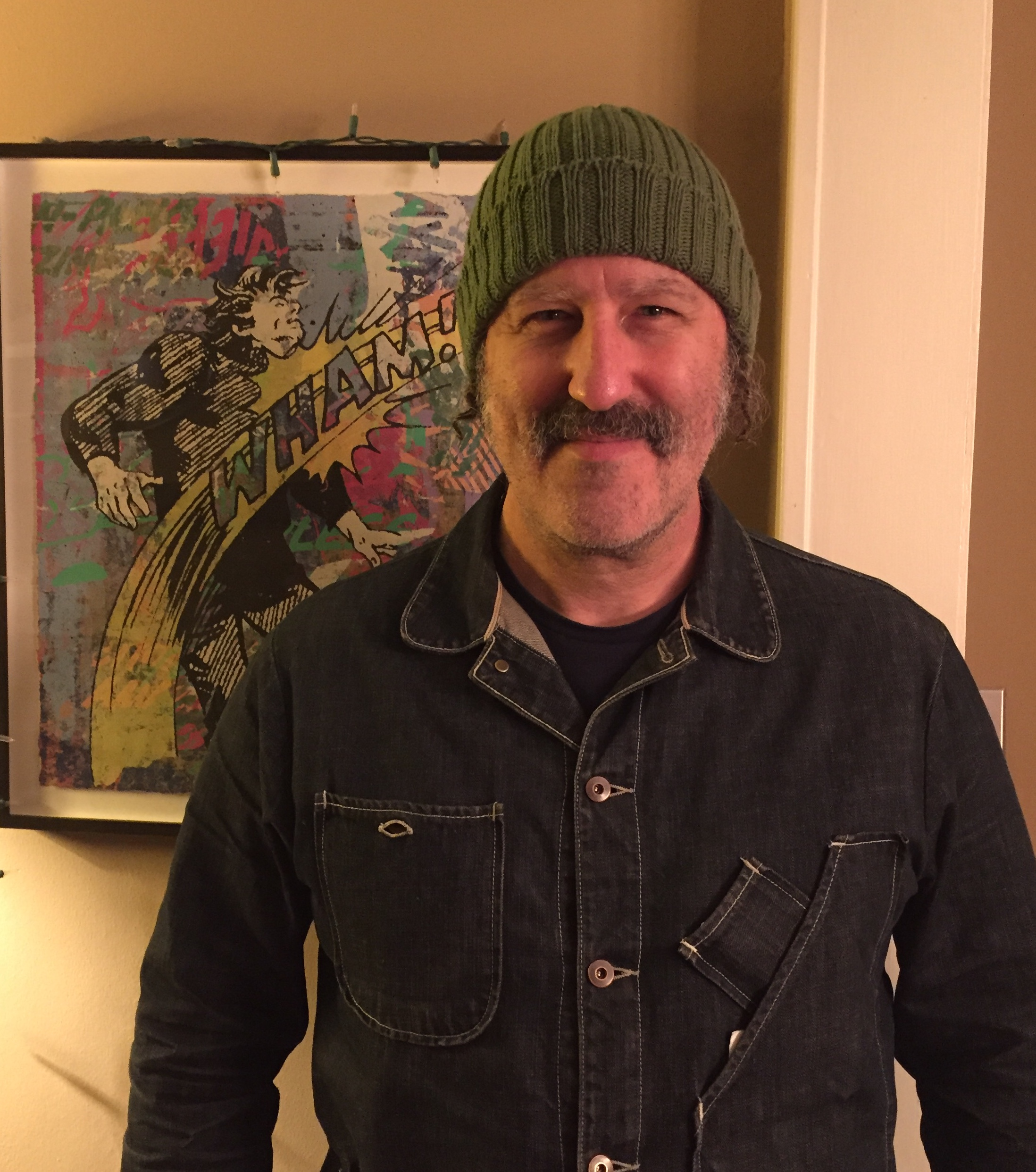 Paul Frank in Sherman Oaks, CA, January 2019