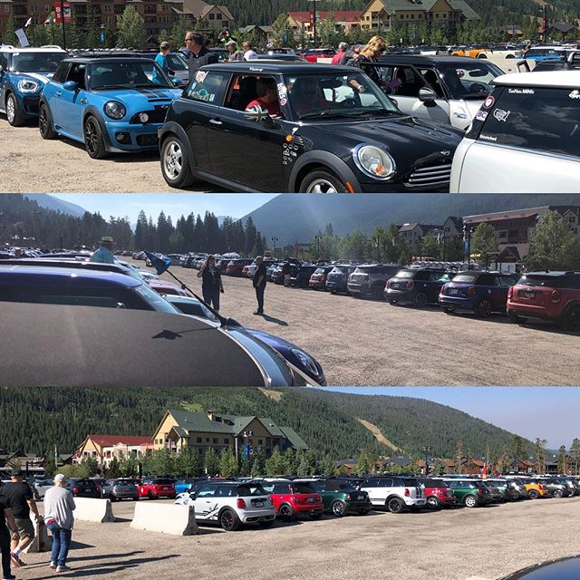 So many minis, great day in Keystone for MTTS 2018