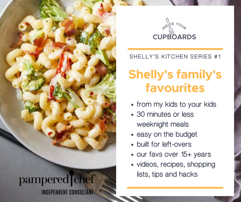 Welcome - Welcome to this personal series from Shelly's Kitchen. We share some of our family favourites, show you in detail how to make them, give you the recipes, and the shopping lists for your phone so you can try them. We hope they become favourites for your family too!