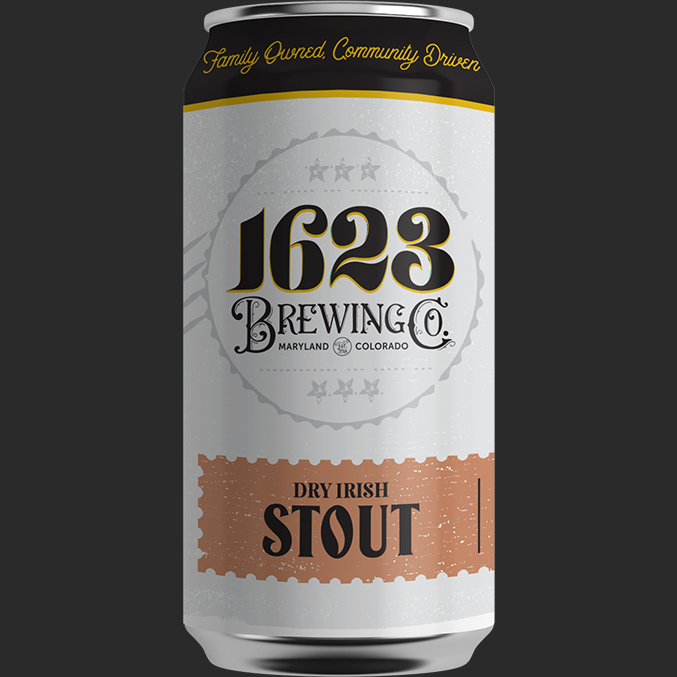 """Dry Irish Stout - Dry Irish Stout5.75% ABV, 30 IBUAvailability: Year-round 6-packs & DraftWe drink dry Stout all year long, or at least we want to. That's why we crafted this medium-bodied, dry-finishing Irish-style Stout. This beer has notes of roasted coffee to warm up cooler days, and smooth drinkability to wash down summer nights. """"The history of the Stout beer style fascinates me. It started as a drink for porters, hence the name Porter. These porters were low alcohol, sweeter beers— chocolatey and malty. Porter evolved as taste preferences did and drinkers craved heartier, more robust, stout flavors. Since then brewers have added oats, chocolate, lactose, and oysters (both the ocean and the Rocky Mountain varieties), fruits, nuts (see what I did there?), and many other adjuncts. Stout will always be a classic Style.""""-Zac Rissmiller"""
