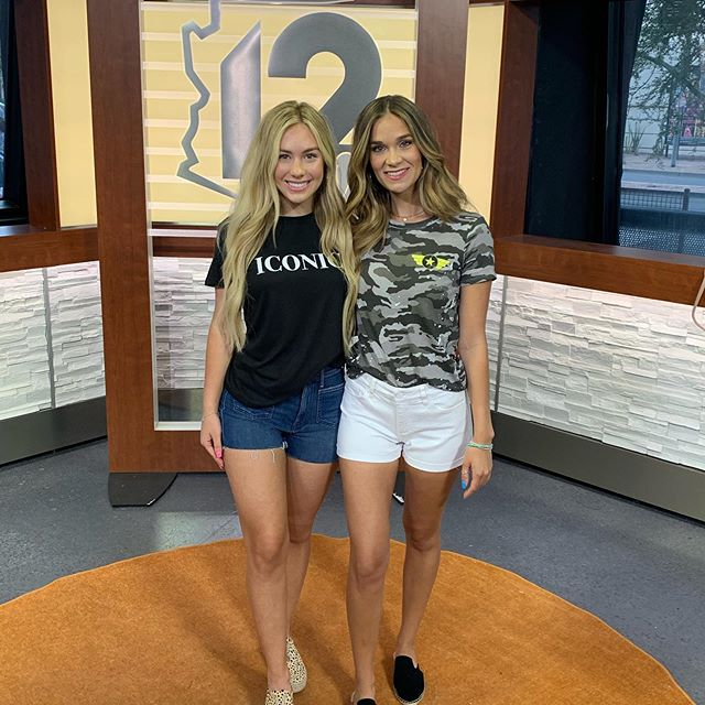 Style Segment • Arizona Midday Shorts & Tees with these Babes