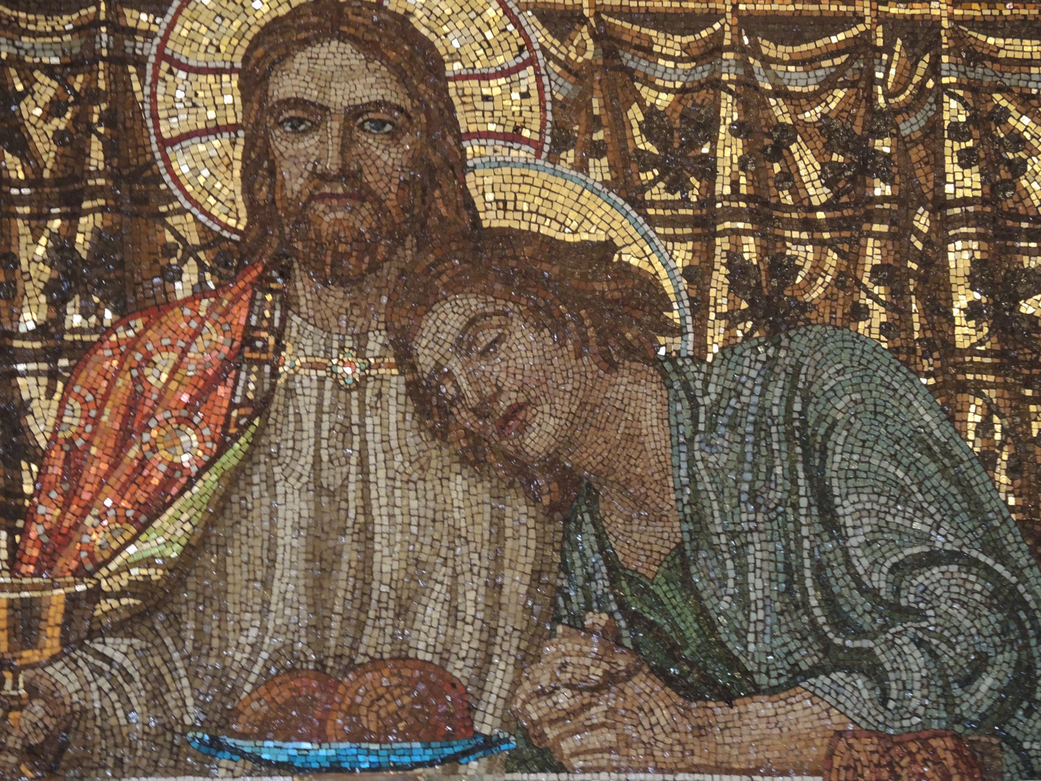 Henry Holiday, Last Supper mosaic