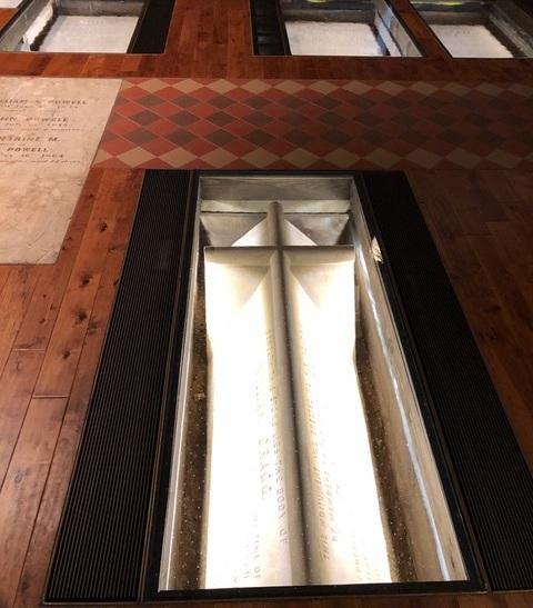 William Cragg's vault, Furness Burial Cloister